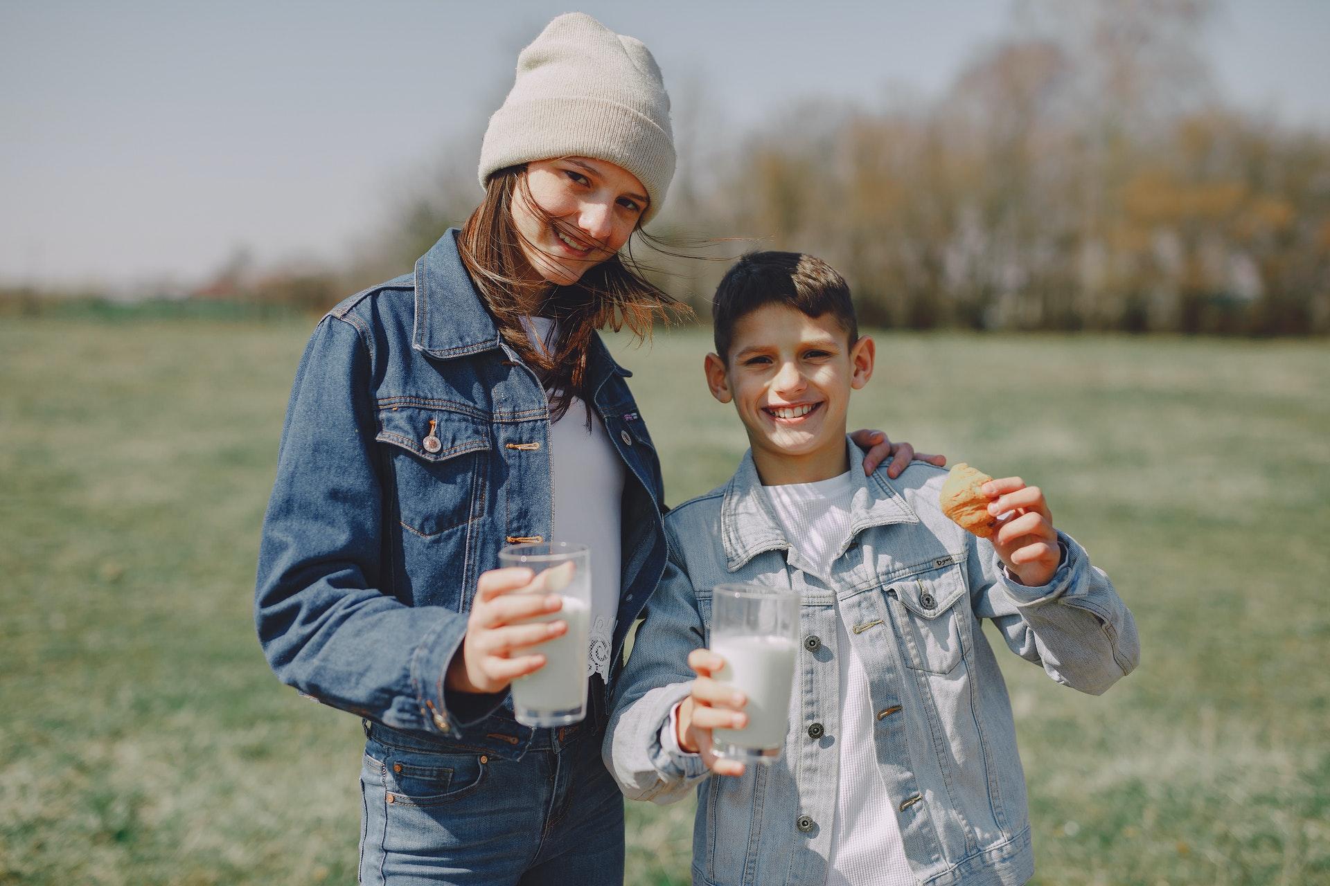 Mleko i deca