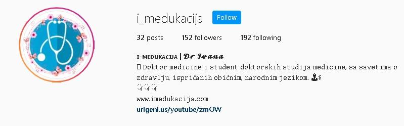 Primer Instagram BIO