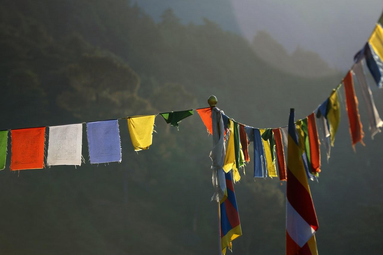 Tibetanski recepti, tibetanska sarena odeca