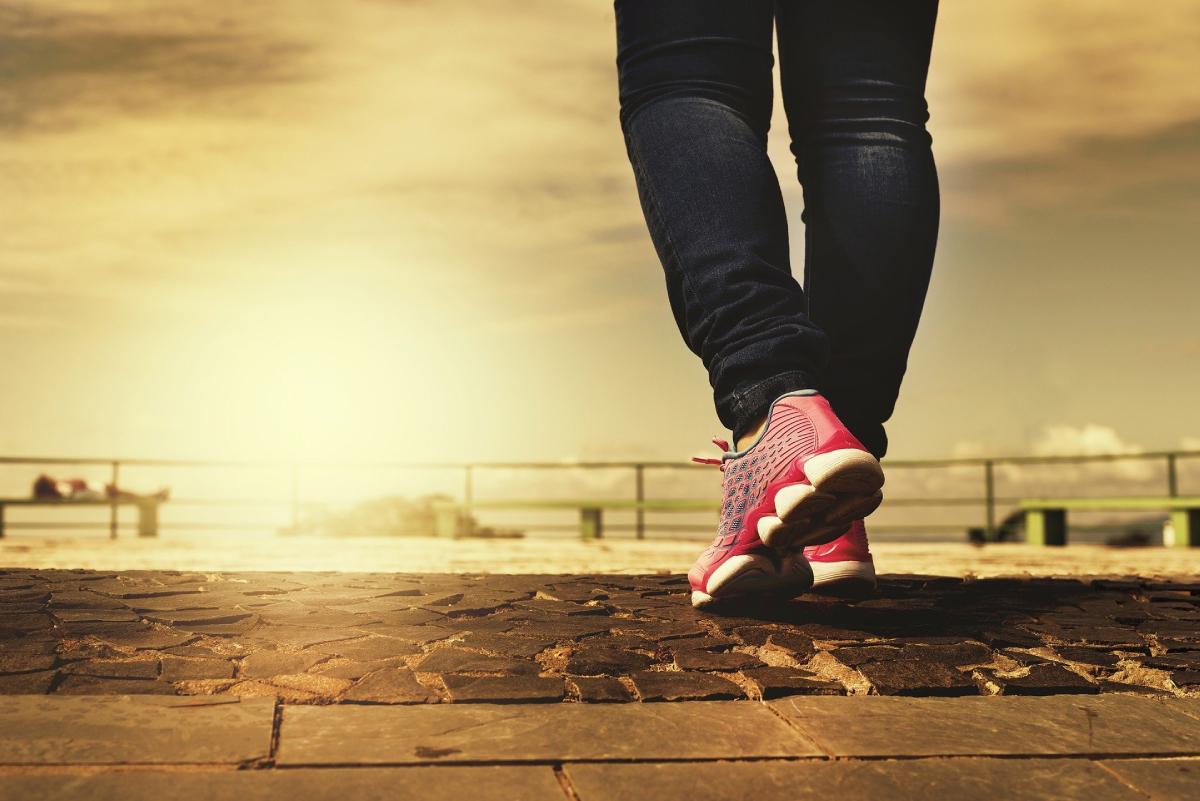 kako skinuti stomak - šetnjom