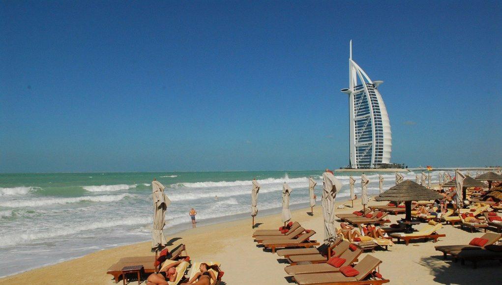plaža u Dubaiju